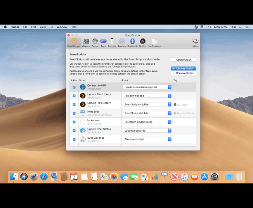 EventScripts Mac 破解版 AppleScripts脚本触发器-麦氪搜(iMacso.com)